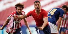 Suarez rettet Atletico, Barca aus dem Titel-Rennen