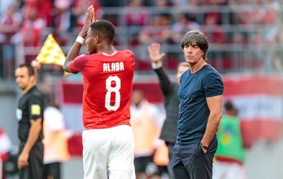 Sind David Alaba und Jogi Löw bald beim selben Klub?