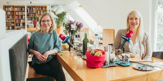 """Beim Ö3-""""Frühstück"""" mit Claudia Stöckl gewährte Umweltministerin Leonore Gewessler private Einblicke"""