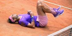 Nadal schlägt Djokovic, baut unheimliche Serie aus