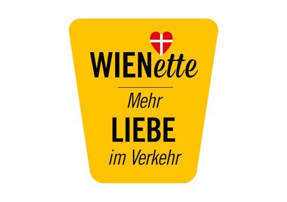 """Der neue """"WIENette""""-Aufkleber für Auto, Scooter und Fahrrad"""