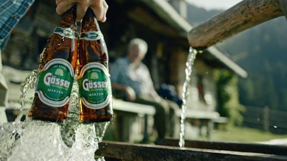 Gösser spendet 10.000 Biere.