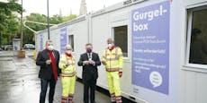 Stadt erweitert Testangebot um zehn neue Gurgelboxen
