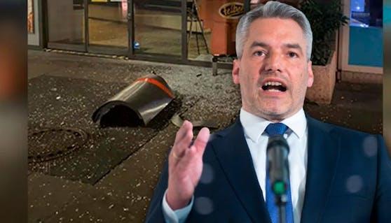 Innenminister Karl Nehammer will Favoriten sicherer machen.