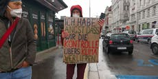 """Klima-Aktivisten starten """"Rebellion der Tropfen"""""""
