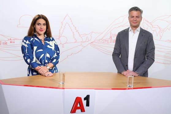 Direktorin EcoAustria, Monika Köppl-Turyna A1 Group CEO, Thomas Arnoldner.
