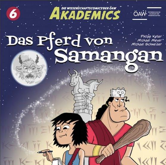 Mit vier neuen Comics lockt die Österreichische Akademie der Wissenschaft Kinder zwischen 7 und 10 Jahren in die Welt der Forschung.