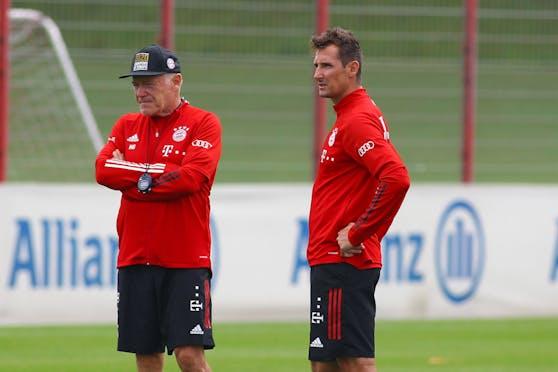 """""""Tiger"""" Gerland, Miroslav Klose"""
