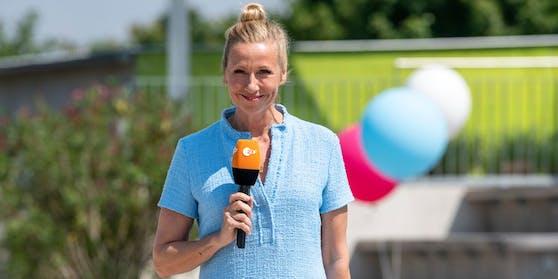 Der Fernsehgarten mit Andrea Kiewel.