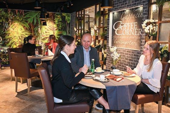 In ausgewählten Kika- bzw. Leinerfilialen bekommen Kunden nun ein neues Gastro-Konzept präsentiert.