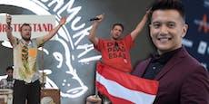 Kuriose Botschaft von Rap-Duo an ESC-Star Vincent Bueno
