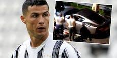Juve-Aus? Ronaldo lässt Luxusautos abtransportieren