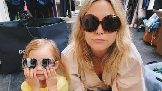 Hollywood-Star Kate Hudson und ihre Tochter Rani Rose