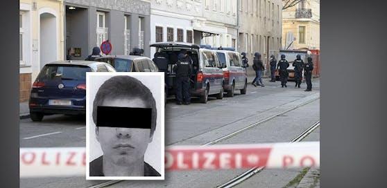Der Terrorverdächtige Kujtim K. (16) wurde am Dienstag enthaftet.
