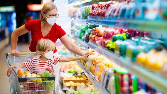 Die Preise für Lebensmittel steigen.