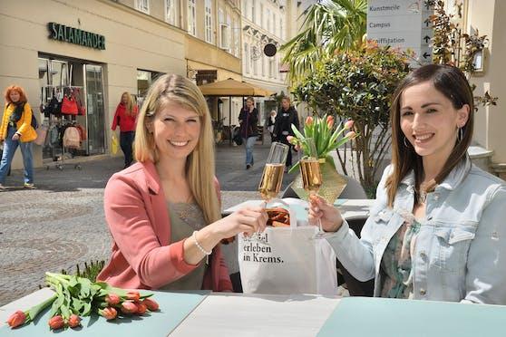 Vorfreude auf die Öffnungen in der Kremser Altstadt