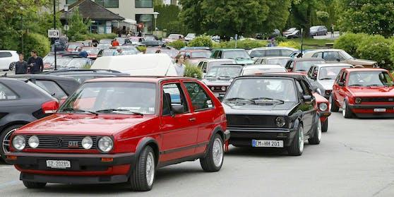 Das GTI-Treffen in Kärnten.