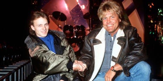 """Dieter Bohlen schrieb 1989 dem bis dahin eher unbekannten Thomas Forstner """"Nur ein Lied"""". Das Ergebnis: Platz 5!"""