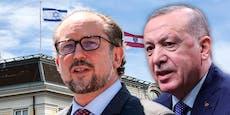 """""""Schaum vorm Mund"""": Harte Worte Österreichs an Erdogan"""
