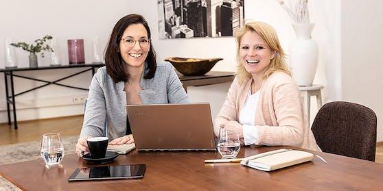 """Lisi Molzbichler und Ruth Gabler-Schachermayer gründeten """"balanceUp""""."""