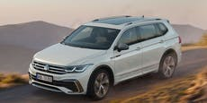 VW präsentiert den frisch gelifteten Tiguan Allspace