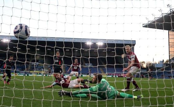 Firmino trifft zum 1:0 für Liverpool