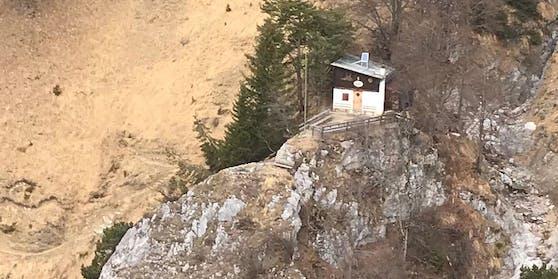 Die Buchtaler Hütte  war sein Ziel, auf dem Weg dorthin verunglückte der Wanderer tödlich.