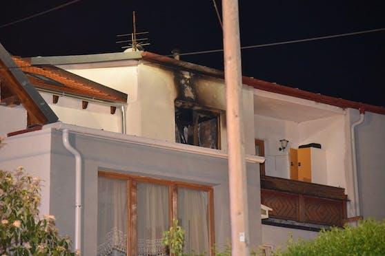 In einem Wohnhaus brach ein Brand aus.