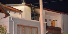 Küchenbrand in Baden forderte drei Wehren