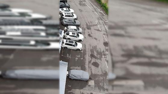 Der geheime BMW-Parkplatz in Wien-Favoriten