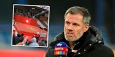 Liverpool-Legende im Old Trafford mit Pyro beschossen