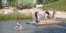 Wiens Wasserspielplätze starten in die Sommersaison