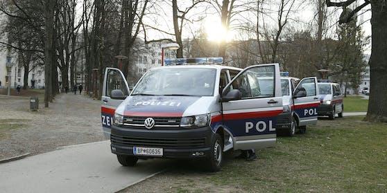 Die Polizei löste die Veranstaltung auf.