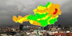Sturm sorgt in mehreren Bundesländern für Warnstufe ROT