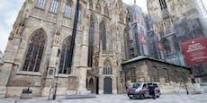 Betrunkener spielte laute Musik im Wiener Stephansdom