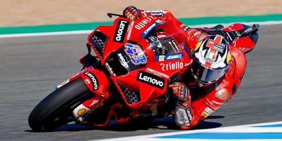 Jack Miller war mit seiner Ducati der Schnellste.