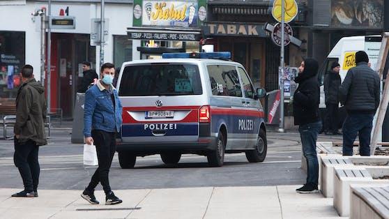 Polizei-Streife in Favoriten (Archivfoto)