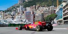 Ferrari-Star sorgt für Tagesbestzeit in Monaco