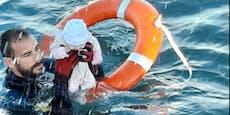 Baby-Rettung vor Ceuta sorgt für Aufsehen