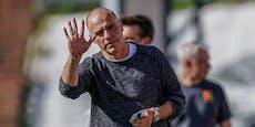Admira trennt sich zum zweiten Mal von Coach Schmidt