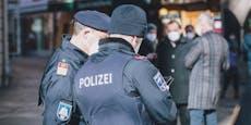 Polizist beobachtet Kopfstoß bei Sperrstunden-Kontrolle