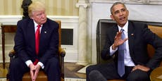 """""""Schwein"""" – So derb sprach Obama über Trump"""