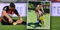 """Zlatan holt sich """"frisches"""" Knie für schnelles Comeback"""