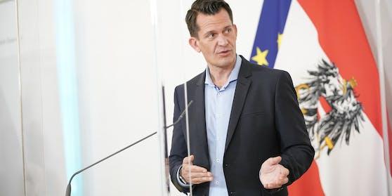 Gesundheitsminister Mückstein