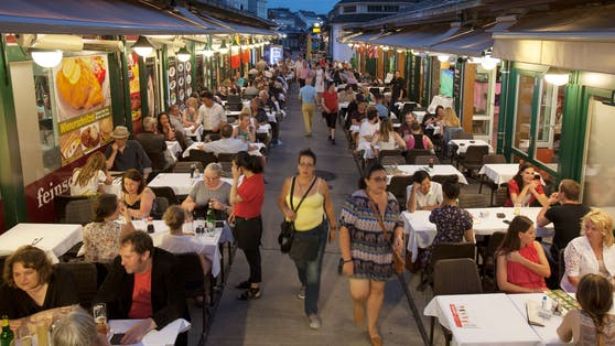 Auf Wiens Märkten wird auch die Gastronomie jetzt wieder durchstarten. (Archivbild)