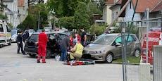 Zwei Verletzte nach Crash gegen Masten