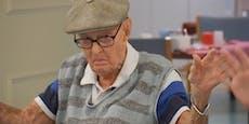 111-Jähriger hat kuriosen Grund für biblisches Alter