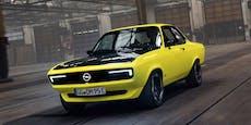 Opel verwandelt den Manta A zum Elektroauto