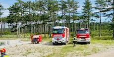 Höchste Alarmstufe bei Waldbrand in St. Egyden