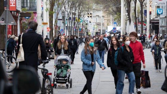 Die Zahl der aktiven Fälle in Wien sinkt auf rund 5.800.